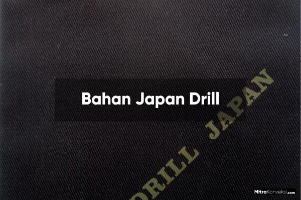 Bahan Japan Drill